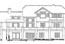 Cabin Exterior - Rear Elevation Plan #942-36