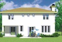 House Plan Design - Prairie Exterior - Rear Elevation Plan #72-1134