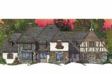 Architectural House Design - European Exterior - Front Elevation Plan #1016-95