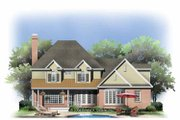 Traditional Style House Plan - 6 Beds 5 Baths 3580 Sq/Ft Plan #929-801