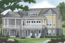 Craftsman Exterior - Rear Elevation Plan #453-566