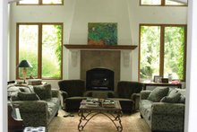 Mediterranean Interior - Family Room Plan #937-16