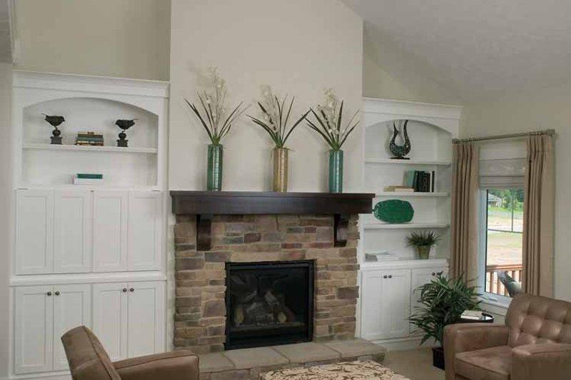 Traditional Interior - Family Room Plan #928-111 - Houseplans.com