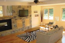Architectural House Design - Craftsman Interior - Family Room Plan #939-1