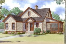 Craftsman Exterior - Front Elevation Plan #923-13