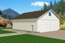 Traditional Exterior - Front Elevation Plan #117-367