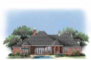 European Style House Plan - 4 Beds 3 Baths 2812 Sq/Ft Plan #929-877 Exterior - Rear Elevation