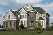 House Design - Mediterranean Exterior - Front Elevation Plan #927-152
