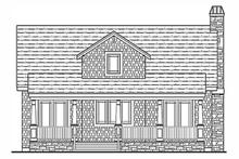 Craftsman Exterior - Rear Elevation Plan #314-276