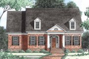 Classical Style House Plan - 3 Beds 2.5 Baths 2950 Sq/Ft Plan #1054-7 Exterior - Front Elevation