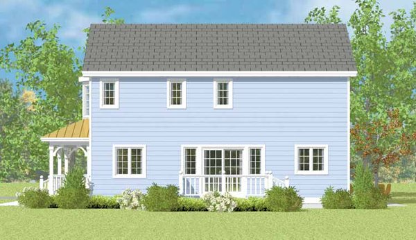 Country Floor Plan - Other Floor Plan Plan #72-1114