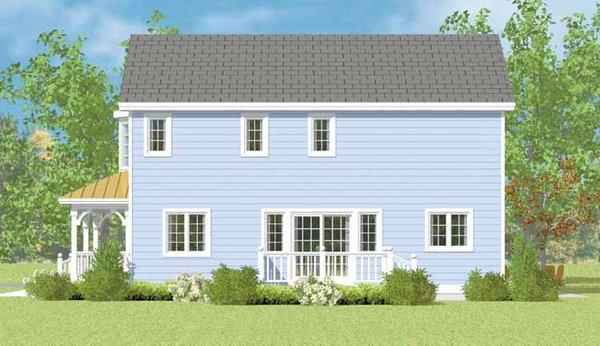 Country Floor Plan - Other Floor Plan Plan #72-1114