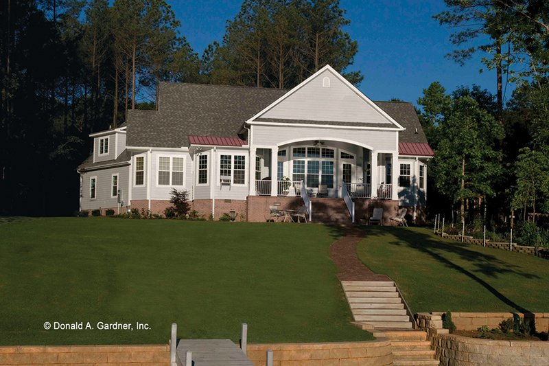 Ranch Exterior - Rear Elevation Plan #929-995 - Houseplans.com