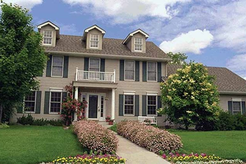 Classical Exterior - Front Elevation Plan #51-875 - Houseplans.com