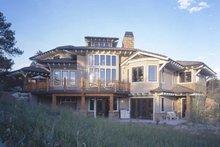 Craftsman Exterior - Rear Elevation Plan #942-16