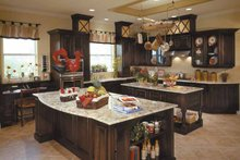 Country Interior - Kitchen Plan #930-96