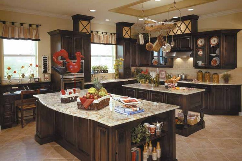 Country Interior - Kitchen Plan #930-96 - Houseplans.com