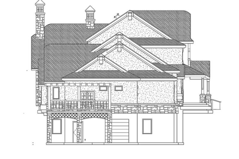 Craftsman Exterior - Other Elevation Plan #937-20 - Houseplans.com