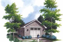 Dream House Plan - Country Exterior - Front Elevation Plan #48-842