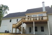 Farmhouse Style House Plan - 4 Beds 3.5 Baths 2529 Sq/Ft Plan #437-78 Exterior - Rear Elevation