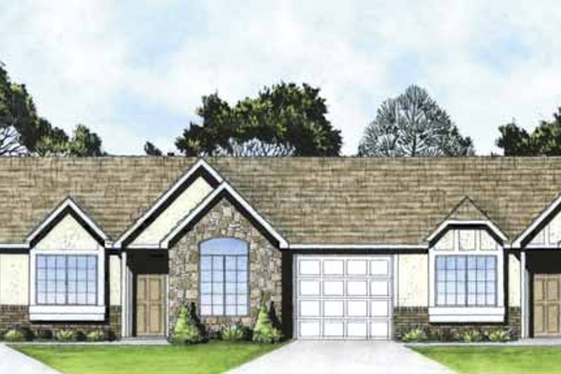 Home Plan - Traditional Exterior - Front Elevation Plan #58-232