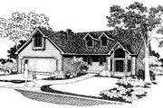 Traditional Style House Plan - 4 Beds 2.5 Baths 1868 Sq/Ft Plan #303-112