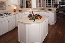Traditional Interior - Kitchen Plan #929-177