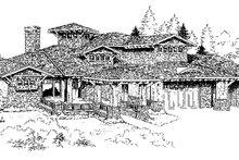 Home Plan - Craftsman Exterior - Front Elevation Plan #942-16