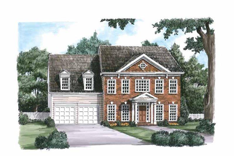 Classical Exterior - Front Elevation Plan #927-617 - Houseplans.com
