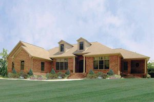 Ranch Exterior - Front Elevation Plan #314-202