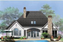 Architectural House Design - Craftsman Exterior - Rear Elevation Plan #929-6