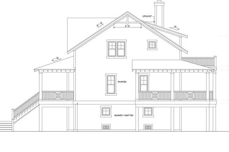 Mediterranean Exterior - Other Elevation Plan #991-17 - Houseplans.com