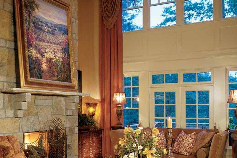 Craftsman Interior - Family Room Plan #429-272 - Houseplans.com