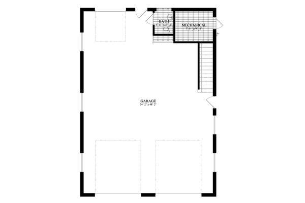 Dream House Plan - Traditional Floor Plan - Main Floor Plan #1060-85