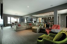 Home Plan - Contemporary Interior - Family Room Plan #928-261