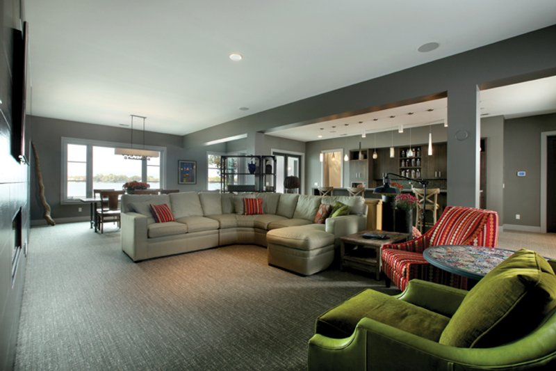 Contemporary Interior - Family Room Plan #928-261 - Houseplans.com