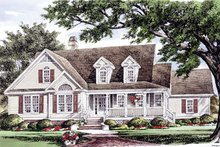 House Plan Design - Country Exterior - Front Elevation Plan #929-976