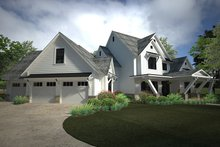 Dream House Plan - Country Exterior - Other Elevation Plan #120-250