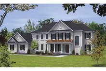 Country Exterior - Front Elevation Plan #328-441
