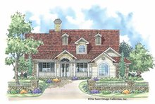 Home Plan - Country Exterior - Front Elevation Plan #930-176