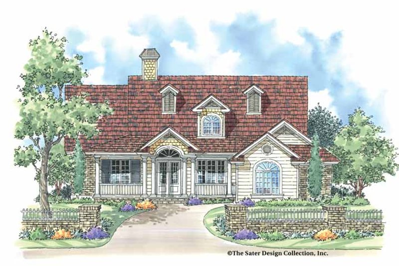 Country Exterior - Front Elevation Plan #930-176 - Houseplans.com