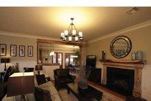 Craftsman Interior - Family Room Plan #37-279