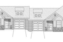 Craftsman Exterior - Front Elevation Plan #932-27