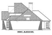 European Style House Plan - 5 Beds 3 Baths 2585 Sq/Ft Plan #17-646 Exterior - Rear Elevation