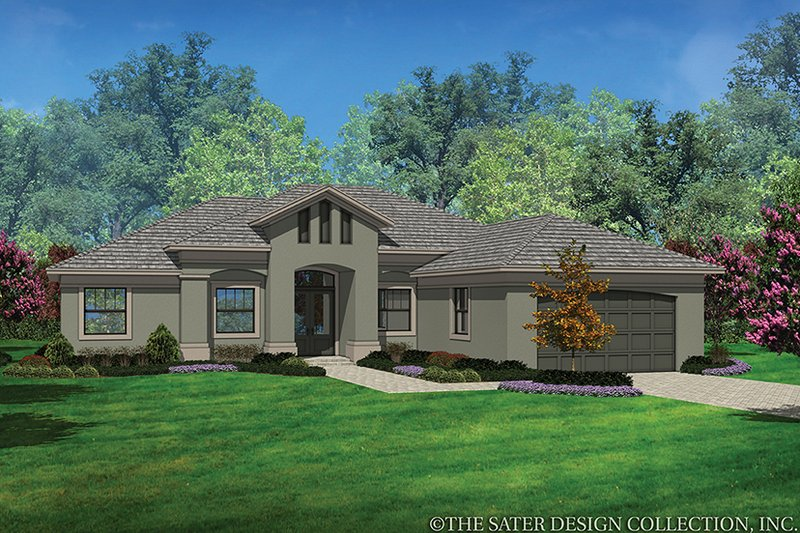 Architectural House Design - Contemporary Exterior - Front Elevation Plan #930-454