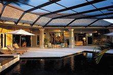 Mediterranean Exterior - Outdoor Living Plan #930-291