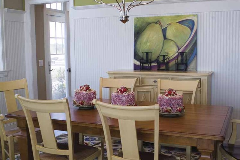 Colonial Interior - Dining Room Plan #928-74 - Houseplans.com