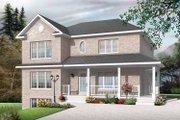 European Style House Plan - 9 Beds 3 Baths 3774 Sq/Ft Plan #23-2447