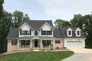 Farmhouse Exterior - Front Elevation Plan #437-78