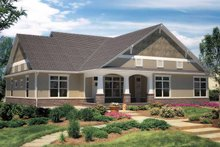 House Plan Design - Contemporary Exterior - Rear Elevation Plan #11-272
